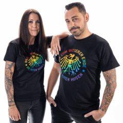 Shirt Adler Regenbogen