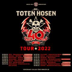 """""""Alles aus Liebe - 40 Jahre Die Toten Hosen"""" Stuttgart, Bremen und Minden: Drei weitere Konzerte der großen Jubiläumstour ausverkauft!"""